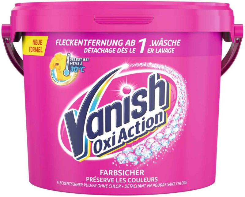Vanish Oxi Action Smacchiatore Sicuro su colori 2.25 kg -