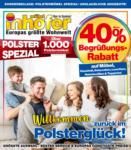 Möbel Inhofer Möbel Inhofer - Polsterspezial - bis 31.03.2021