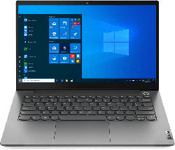 Notebook ThinkBook 14 G2 ITL, i5-1135G7, 16GB RAM, 512GB SSD, 14 Zoll FHD, Grau (20VD008WGE)