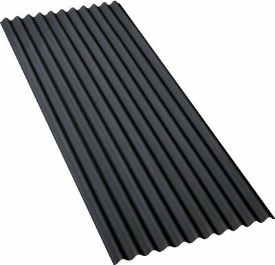 Gutta Bitumenwellplatte Schwarz 200 cm x 83 cm