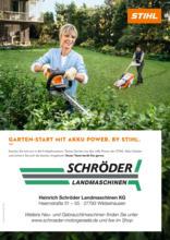 Garten-Start mit Akku Power. By STIHL.