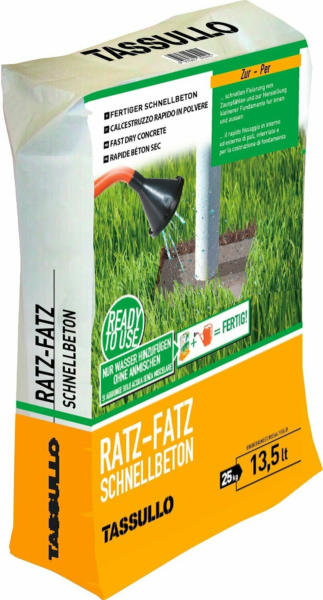 Tassullo Schnellbeton Ratz-Fatz 25 kg