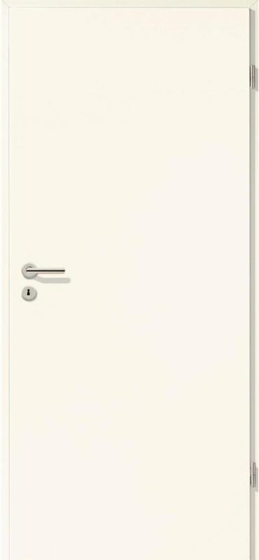Zimmertür CPL Weiß (GL223) 75 cm x 203 cm, Rechts