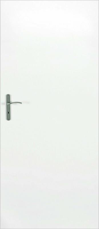 Zimmertür Dekor Wabenkern Weiß 85 cm x 203 cm Anschlag Links