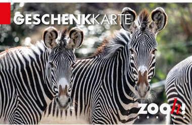 Carta regalo Zoo Zürich variable