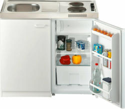 Respekta Miniküche Pantry 100S 100 cm Weiß