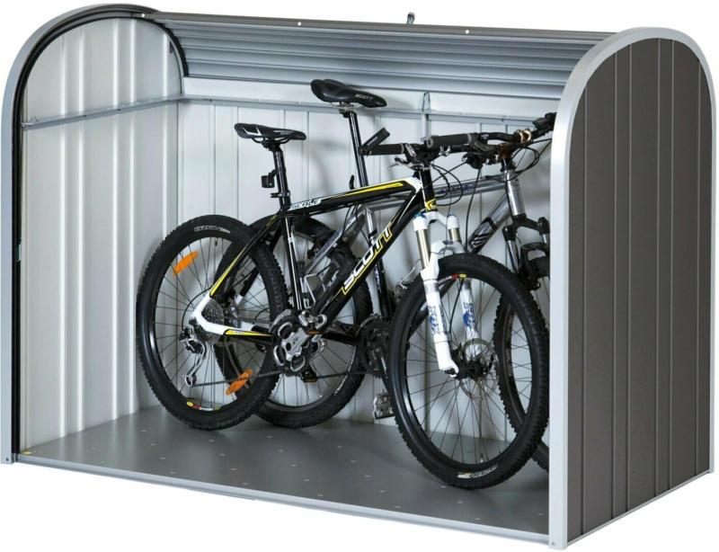 Biohort Garten-Aufbewahrungsbox StoreMax 190 Dunkelgrau-Metallic