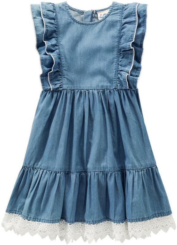 Mädchen Kleid mit Spitze (Nur online)