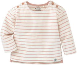 Newborn Langarmshirt im Ringel-Look (Nur online)