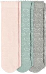 3 Paar Baby Socken mit Herz-Motiv (Nur online)