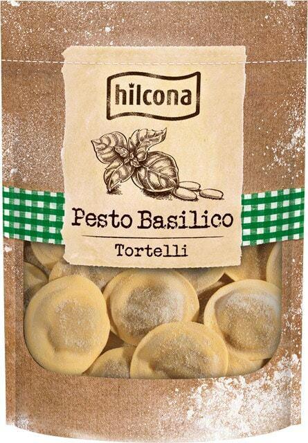 Hilcona Pesto Basilico Tortelli