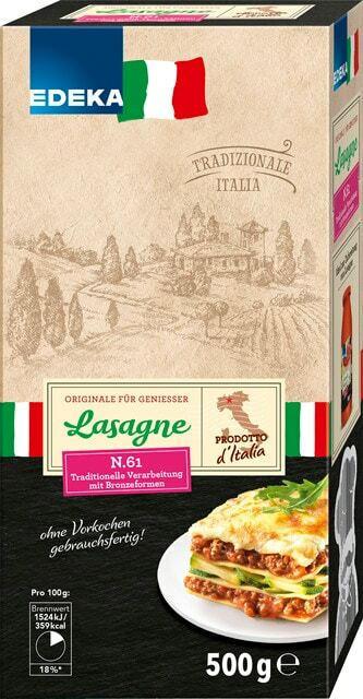 EDEKA Italia Lasagne