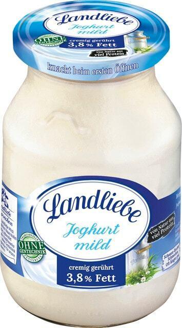 Landliebe cremiger Joghurt mild