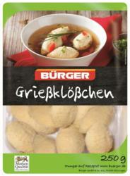 Bürger Suppeneinlage