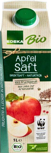 EDEKA Bio Apfelsaft naturtrüb