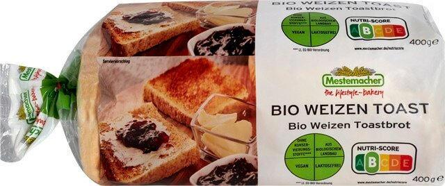Mestemacher Bio Weizen Toast