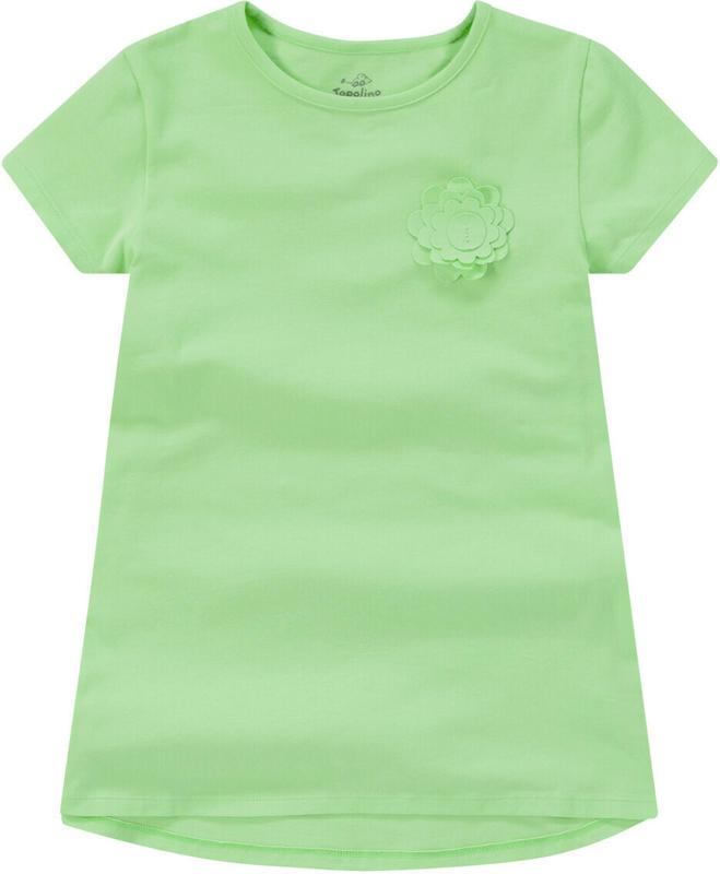 Mädchen T-Shirt mit Blüten-Applikation (Nur online)
