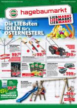 Hagebau Lieb Markt Flugblatt - gültig bis 3.4.