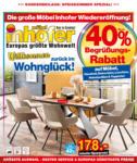 Möbel Inhofer Möbel Inhofer - Sonderbeilage Speisezimmer Spezial! - bis 31.03.2021
