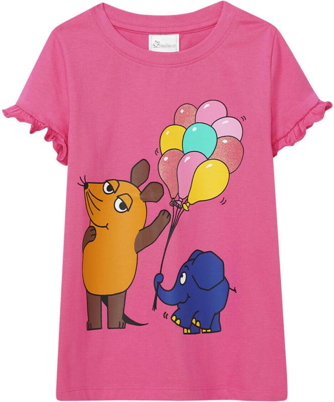 Die Maus T-Shirt mit gerüschten Ärmeln (Nur online)