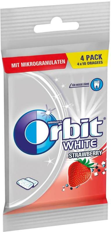 Orbit White Strawberry 4er