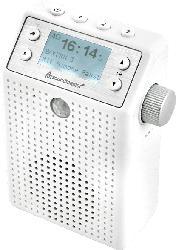 DAB+/UKW Steckdosenradio DAB60WE mit Bewegungsmelder und eingebautem Akku
