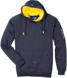 "Kapuzenpullover ""Active"", navy-gelb, Gr.XL XL"