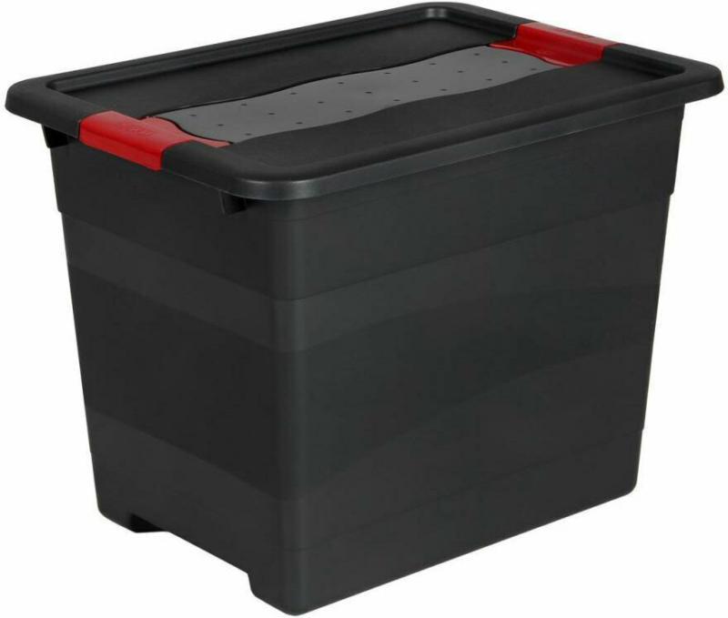 """Box """"Solido"""", 24 L, graphite 24  L"""