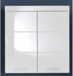 Badhängeschrank Amanda Weiß Hochglanz ca. 73 x 77 x 23 cm