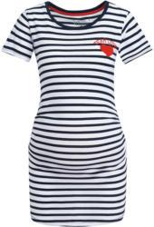 Damen Umstands-T-Shirt mit Herz-Applikation (Nur online)