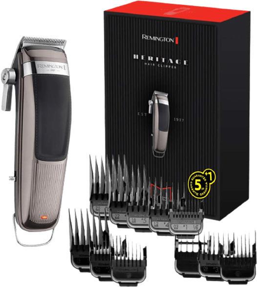 Haarschneider Grau Schwarz Heritage HC9100