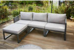 OBI Lounge-Set Willa 4-teilig Aluminium-Gestell Anthrazit - bis 30.04.2021