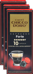 Chicco d'Oro Kaffeekapseln Espresso Forte, 3 x 10 Kapseln