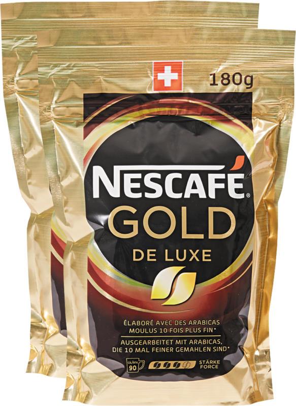 Nescafé Gold De Luxe, 2 x 180 g
