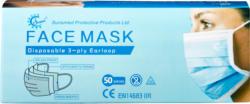 Hygienemasken Typ IIR, 50 Stück