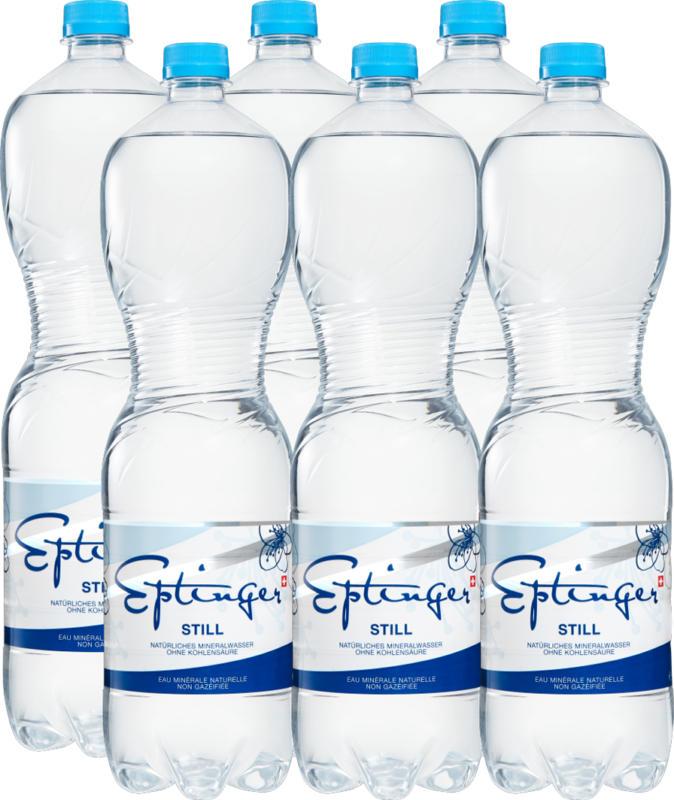 Eptinger Mineralwasser Still, 6 x 1,5 Liter