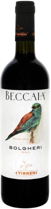 Beccaia Bolgheri Rosso DOC - 6 Stück