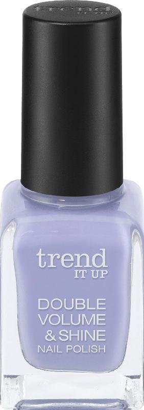 trend IT UP Nagellack Double Volume & Shine Nail Polish lila 369
