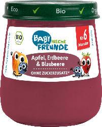 Freche Freunde Früchte Apfel, Erdbeere & Blaubeere, ab dem 6. Monat
