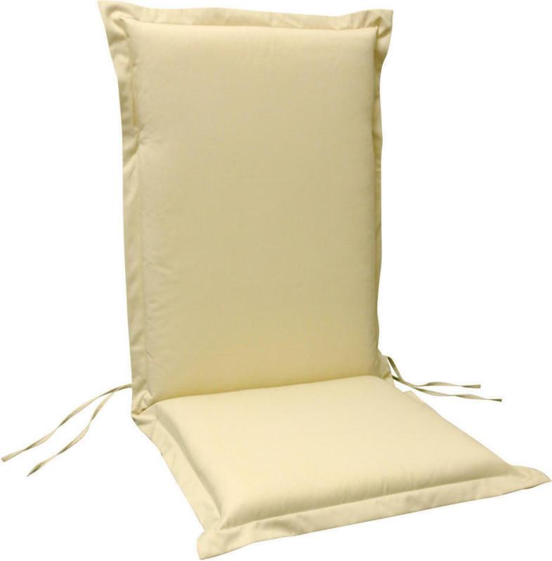 Sesselauflagenset in Beige