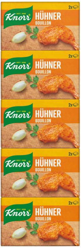 Knorr brodo di pollo in stecche 5lt 113g -