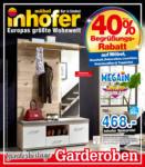 Möbel Inhofer Möbel Inhofer - Sonderbeilage Garderoben - bis 21.04.2021