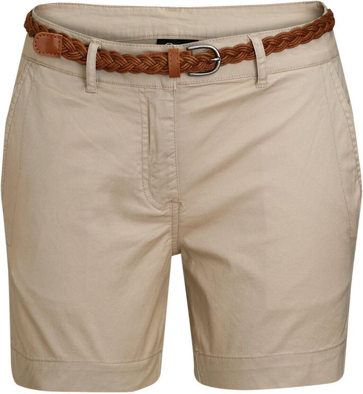 Damen Shorts mit geflochtenem Gürtel (Nur online)