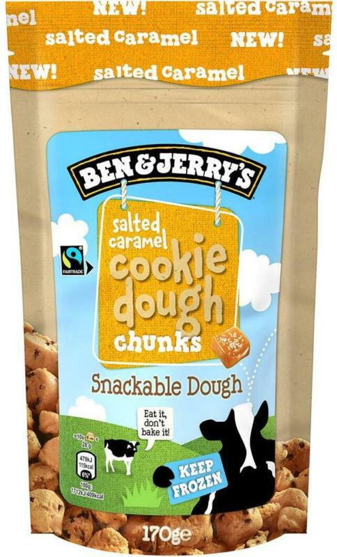 Ben & Jerry's Salted Caramel Cookie Dough Chunks