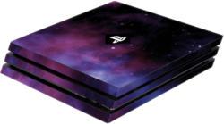 Skin Galaxy Violet für PS4 Pro Konsole