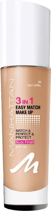 MANHATTAN Cosmetics Make-up 3in1 Easy Match Natural 39