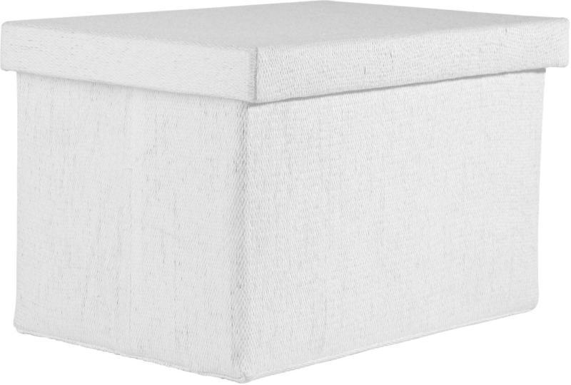 Faltbox Cindy in Weiß ca. 38x26x24cm