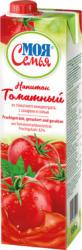 Fruchtgetränk aus Tomatenmarkkonzentrat, gezuckert und gesalzen. Fruchtgehalt: 82%.