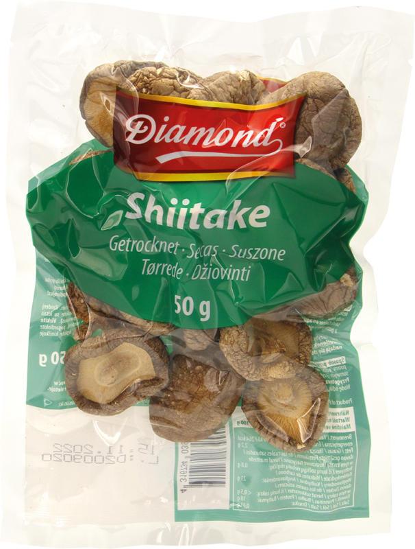 Shiitake getrocknet