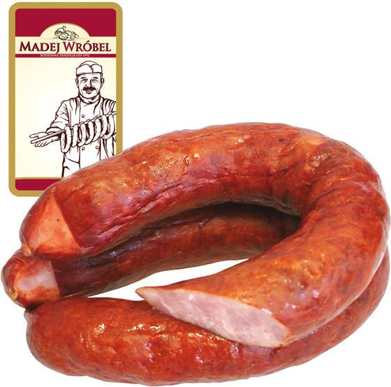 Brühwurst, mittelgrob, geräuchert, nach Altpolnischer Rezeptur